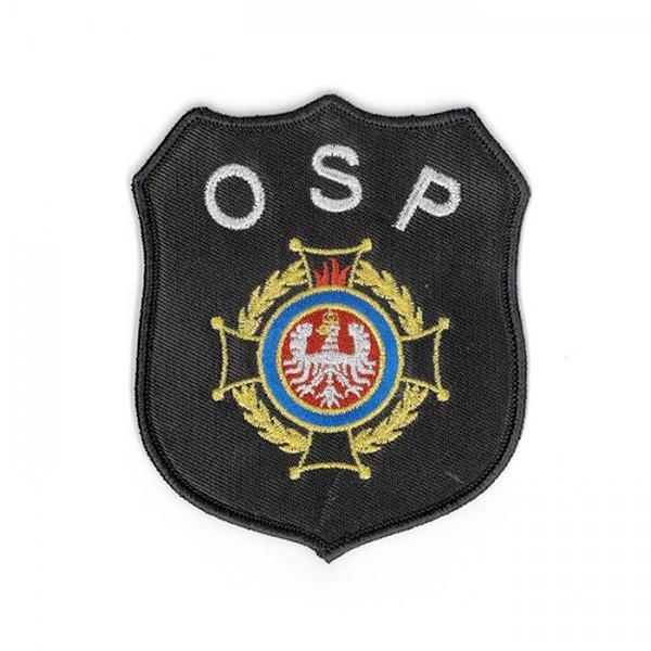 haft na odzieży OSP