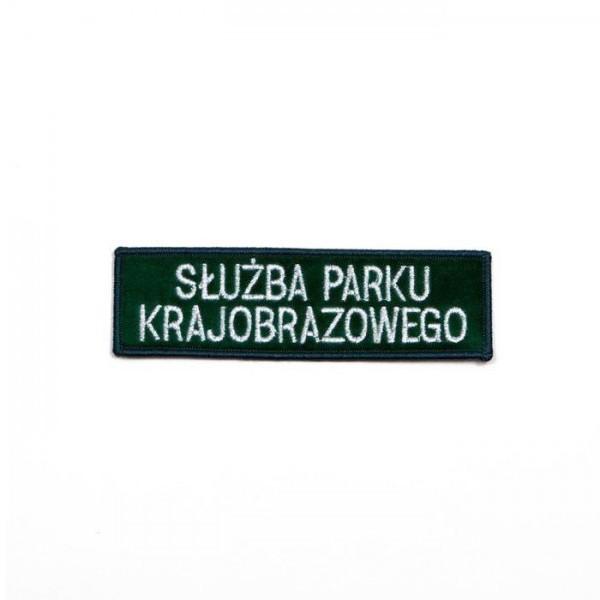 emblemat służby leśnej z napisem