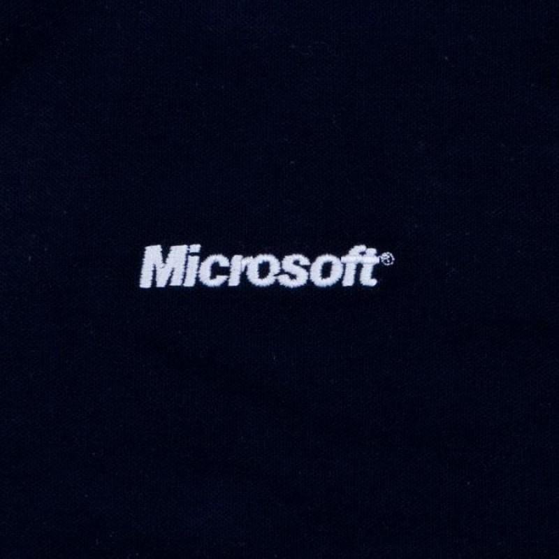 haft na odzież Microsoft