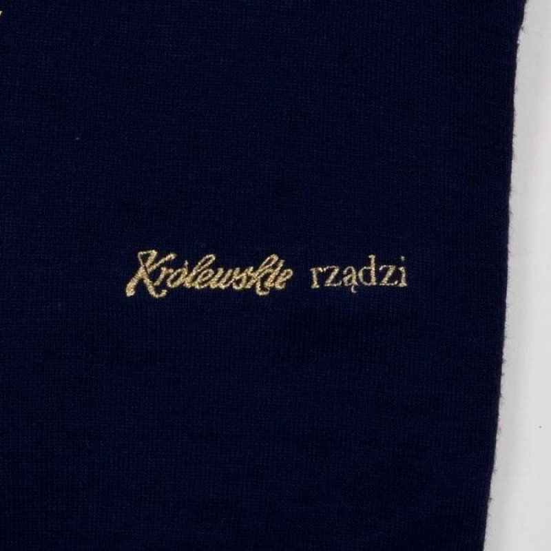 haft na odzież Królewskie rządzi