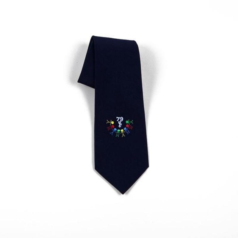 Krawat - haft szkolny 1