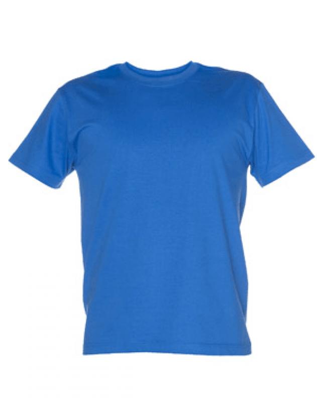 niebieska koszulka promocyjna