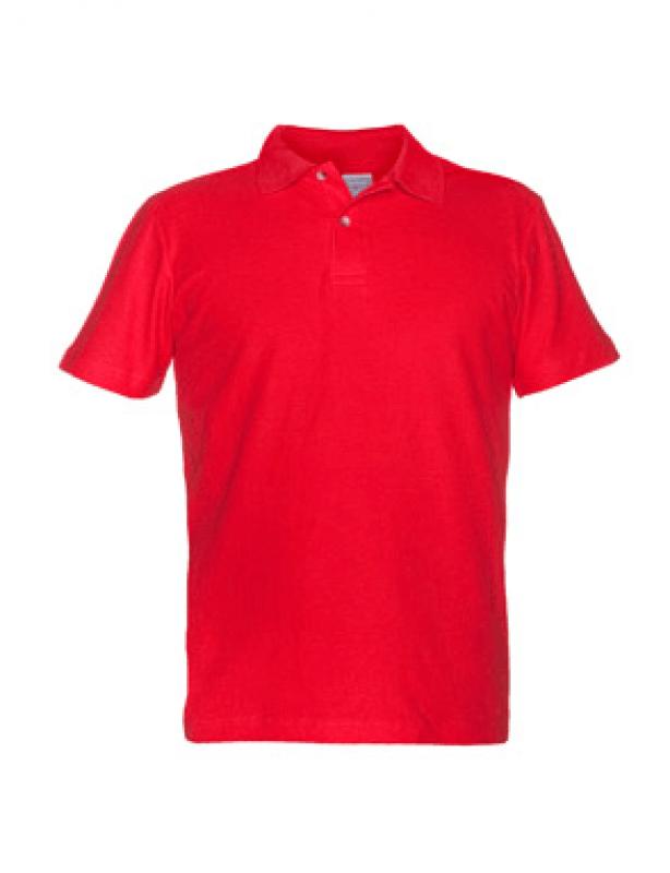 czerwona koszulka promocyjna