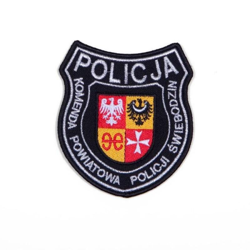 emblemat dla komendy Policji w Świebodzinie