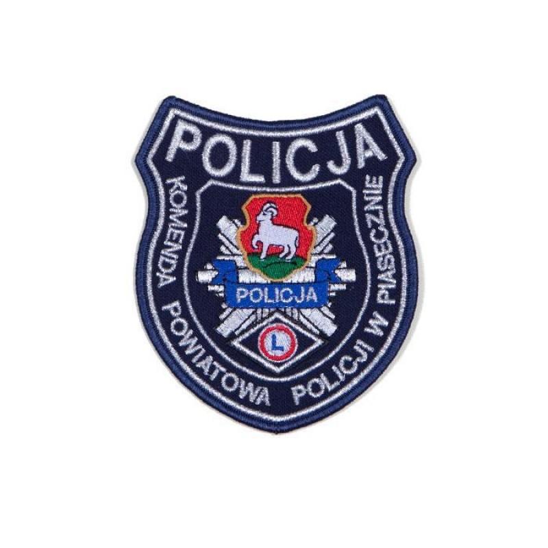 emblemat dla komendy Policji w Piasecznie