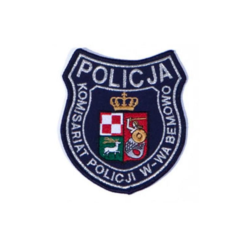 Emblemat komisariatu policji w Warszawie