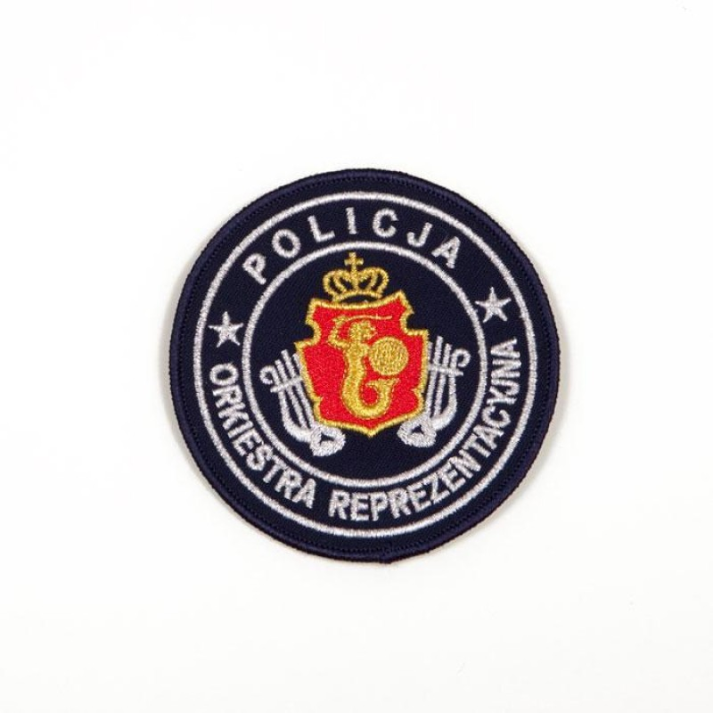 Emblemat dla Orkiestry Reprezentacyjnej policji