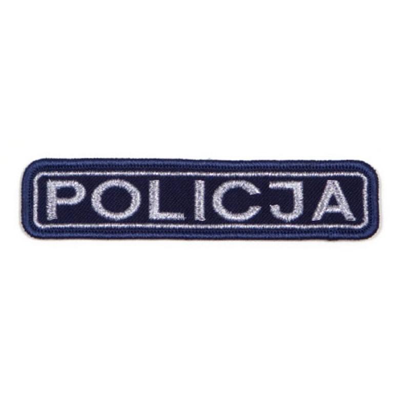 Emblematy z napisem Policja 1