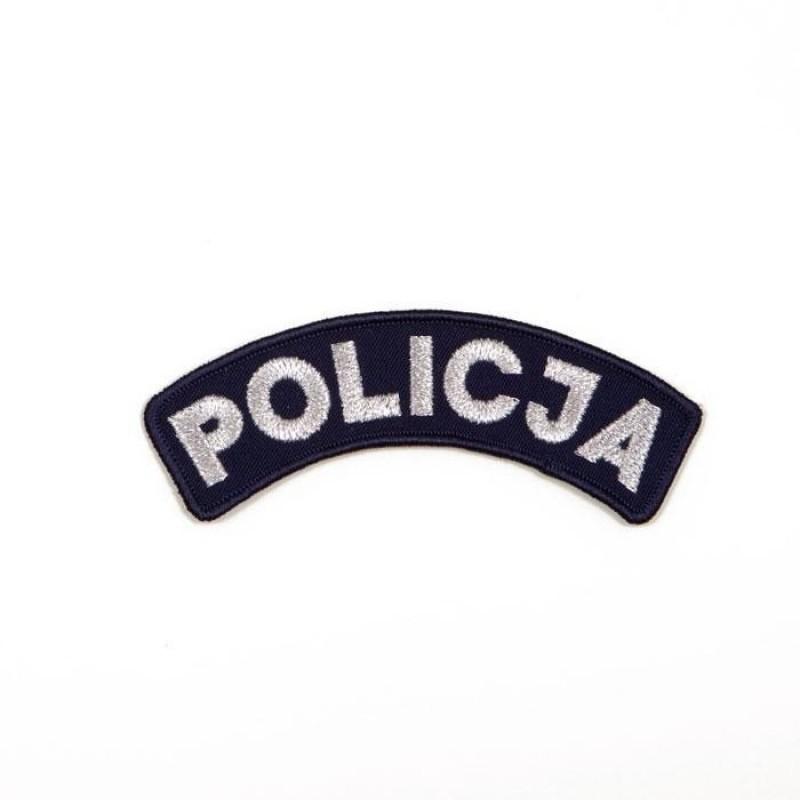 Emblematy z napisem Policja 2
