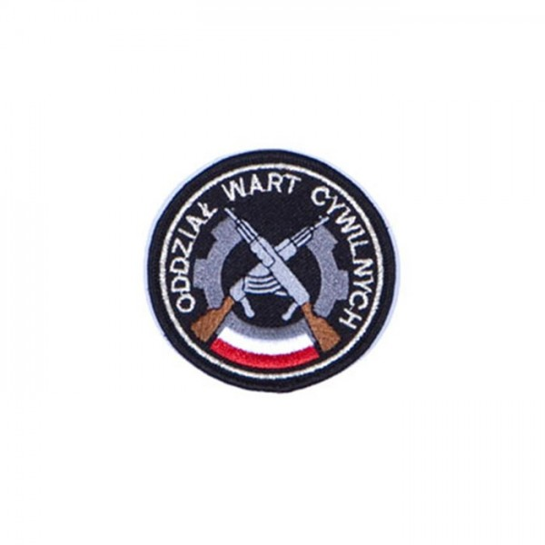 Oznaka służbowa pracownika ochrony wzór 818/MON