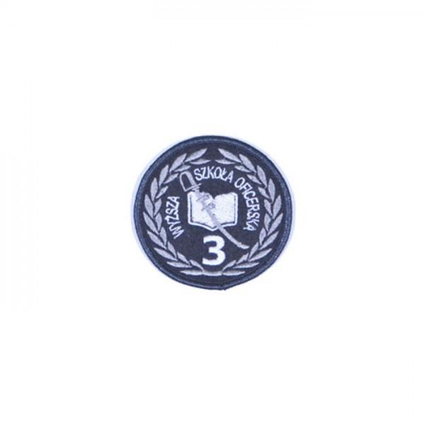 Oznaki szkolne słuchaczy szkół wojskowych okrągłe wzór 835/MON