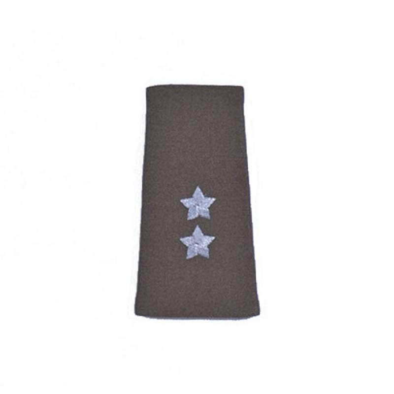Pochewki z haftowanymi oznakami stopni do swetra oficerskiego wzór 829D/MON