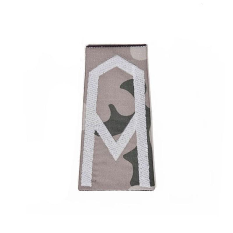 Pochewki z haftowanymi oznakami stopni do umundurowania polo wzór 832/MON