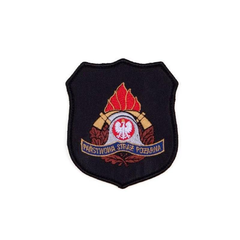 Emblemat oddziału Państwowej Straży Pożarnej 1