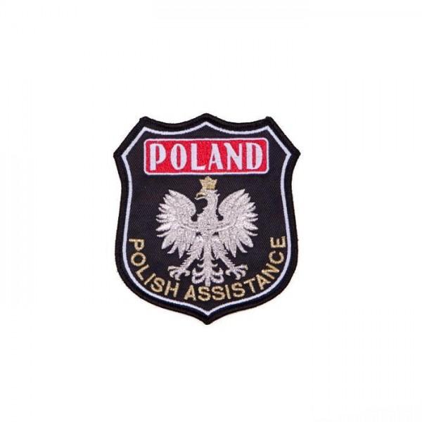 Emblemat naramienny Polish Assistance