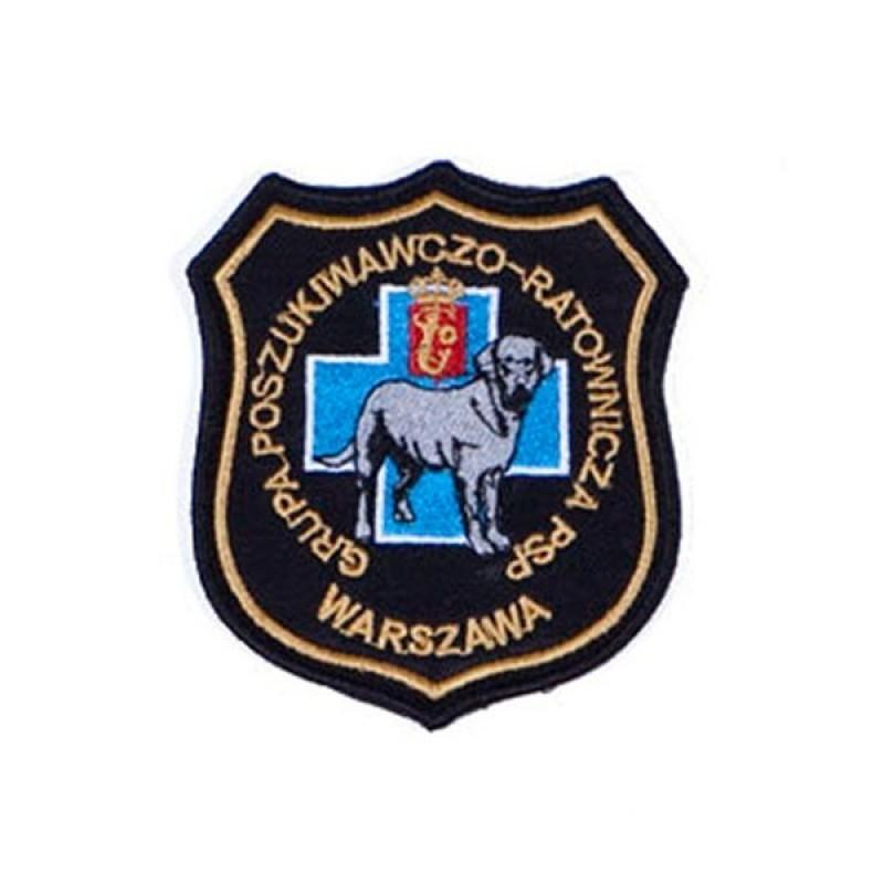 Haft mundurowy PSP 5