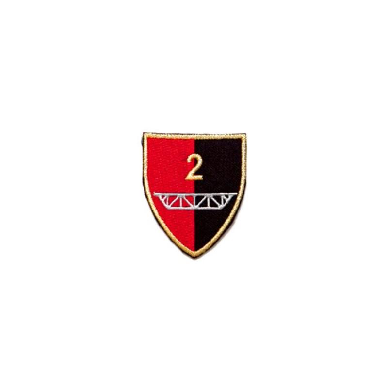 Emblemat 2 Pułku Inżynieryjnego