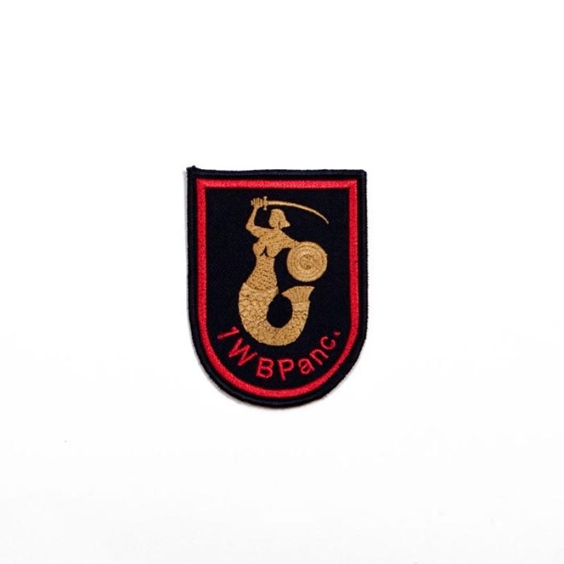 Haft mundurowy - 1 Wojskowej Brygady Pancernej