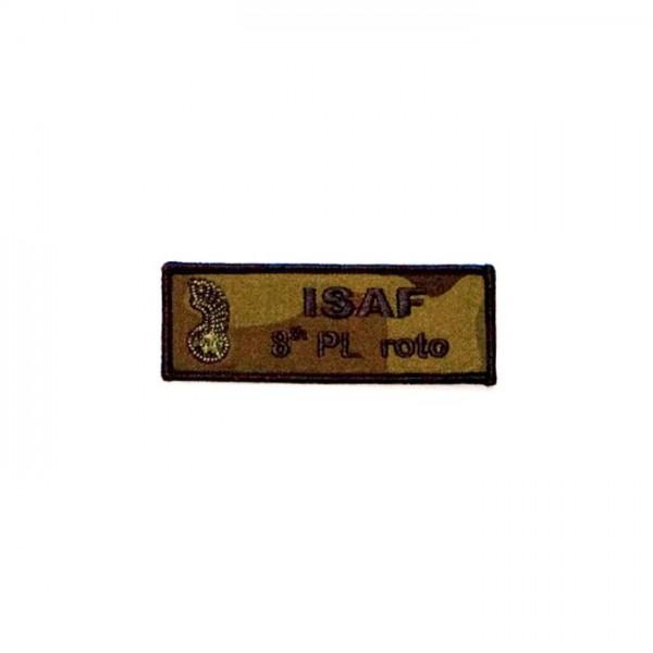 Haft mundurowy  -  Oznaka ISAF-8 th PL roto