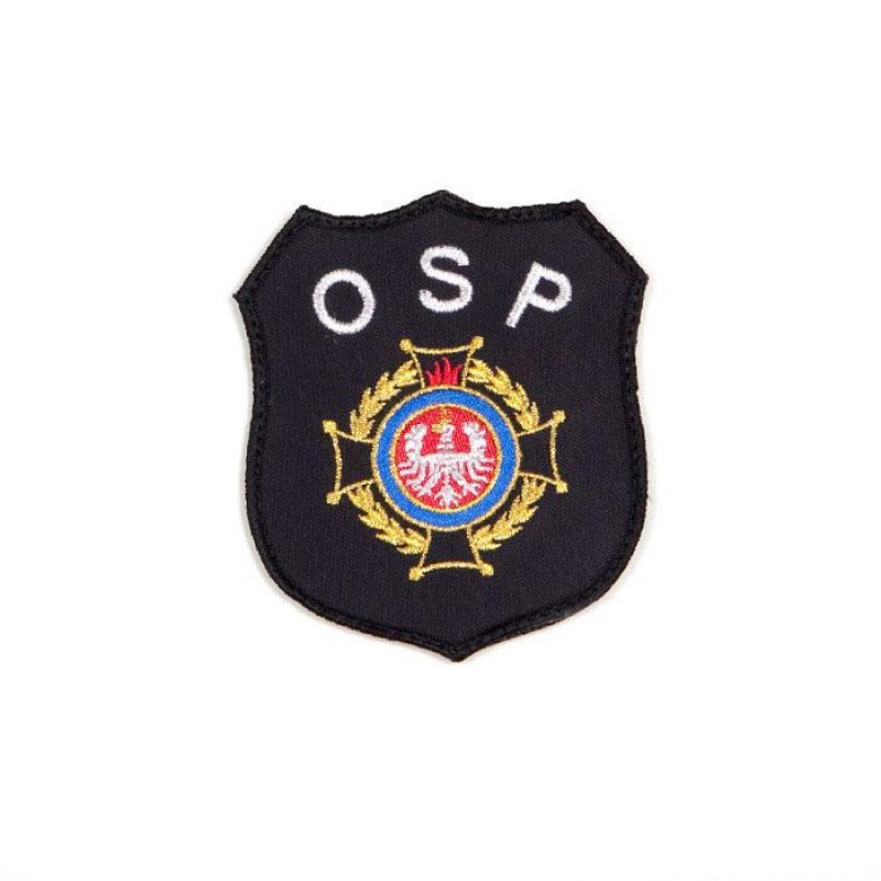 haftowany emblemat naramienny OSP 1