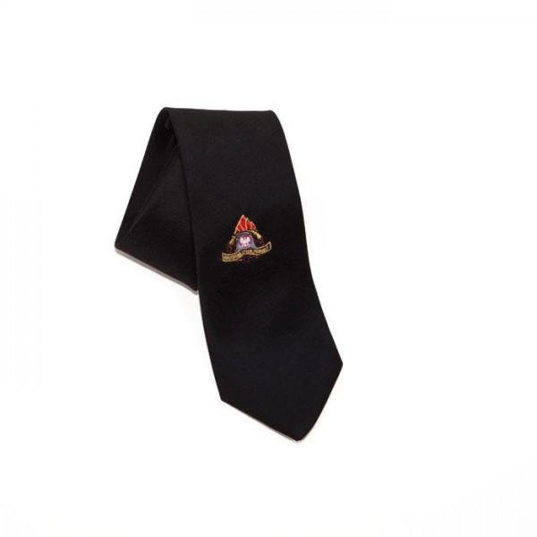 Krawat z haftowanym logo PSP