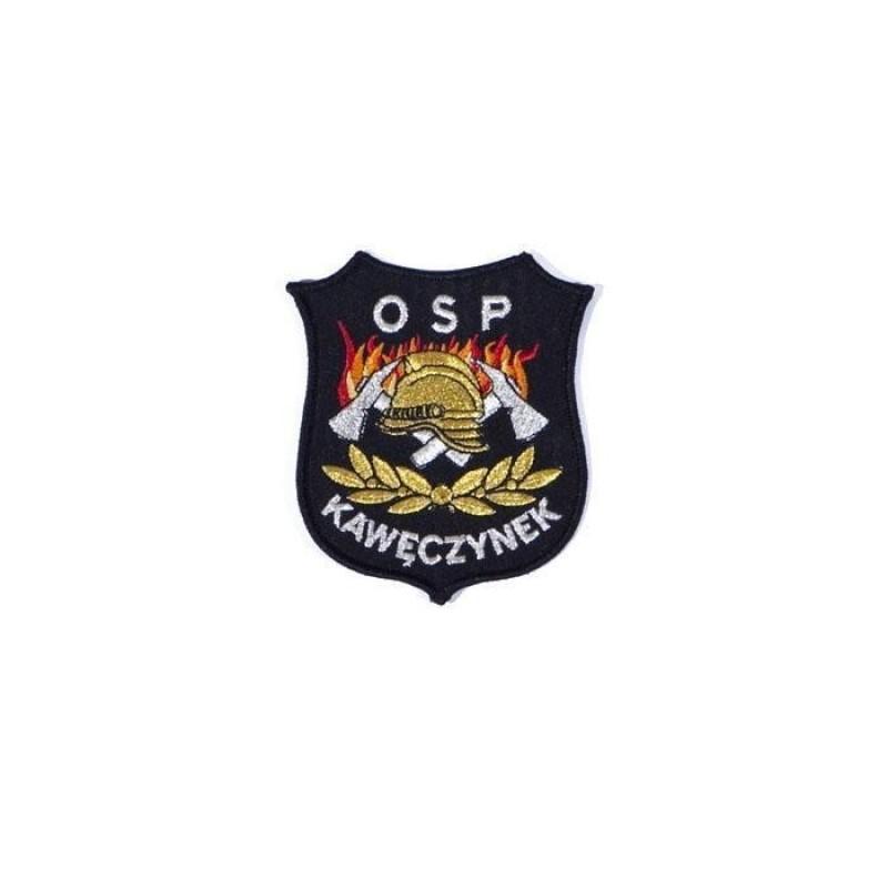 haftowany emblemat naramienny OSP 12