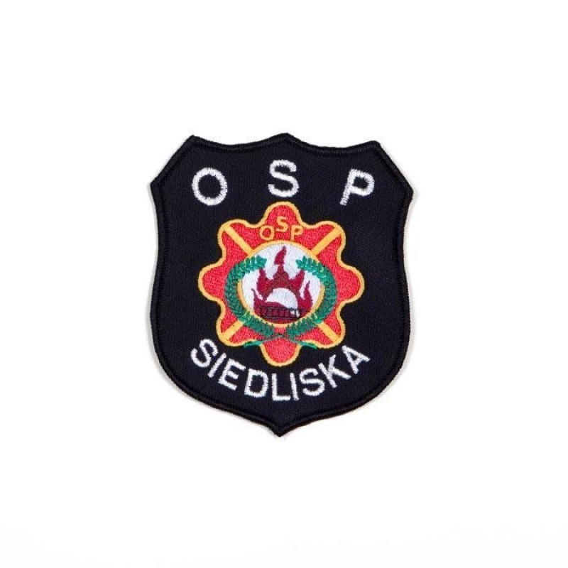 haftowany emblemat naramienny OSP 5