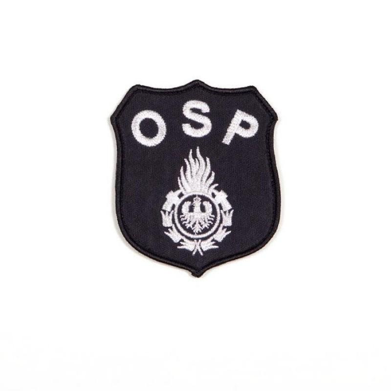 haftowany emblemat naramienny OSP 8