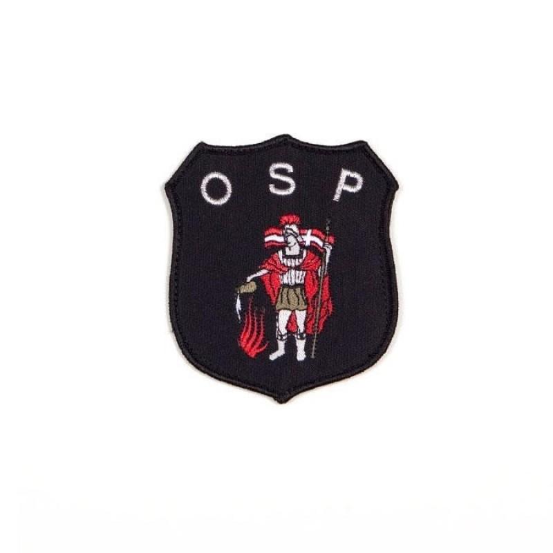 haftowany emblemat naramienny OSP 9