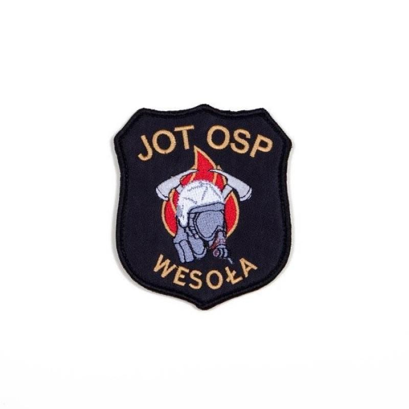 haftowany emblemat naramienny OSP 11