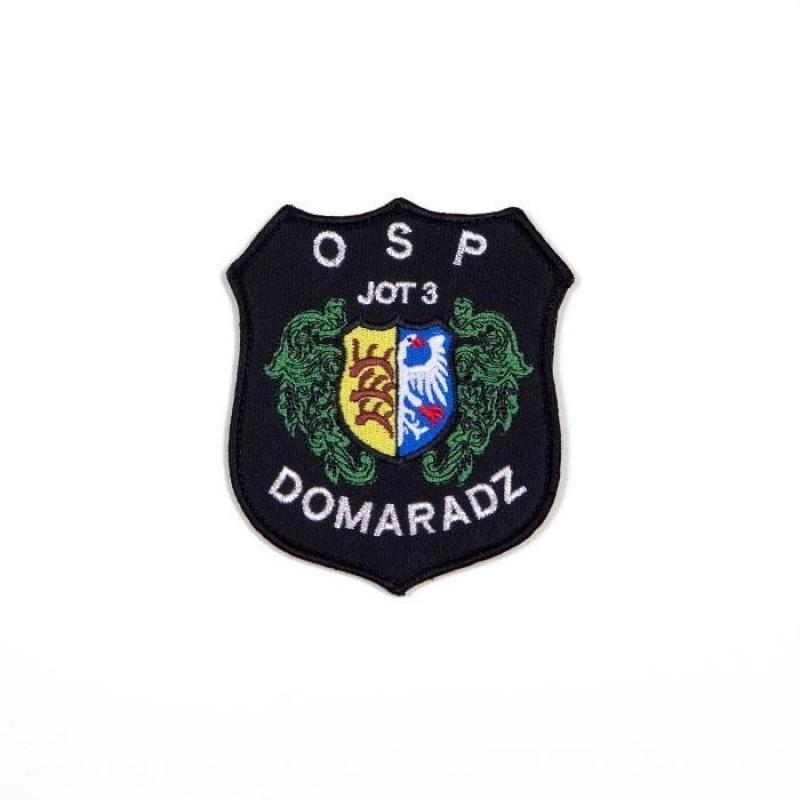 haftowany emblemat naramienny OSP 2