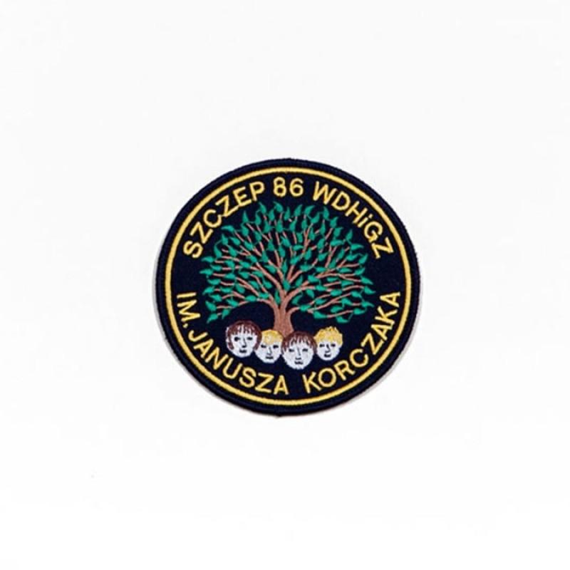 Haft mundurowy Szczep 86 WDHiGZ