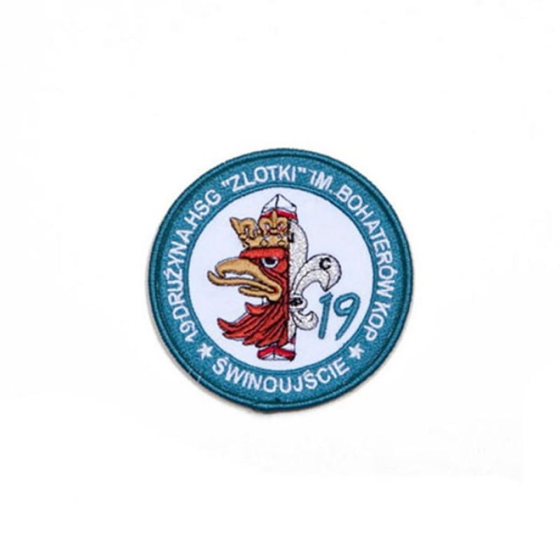 haft mundurowy 19 Drużyna HSG