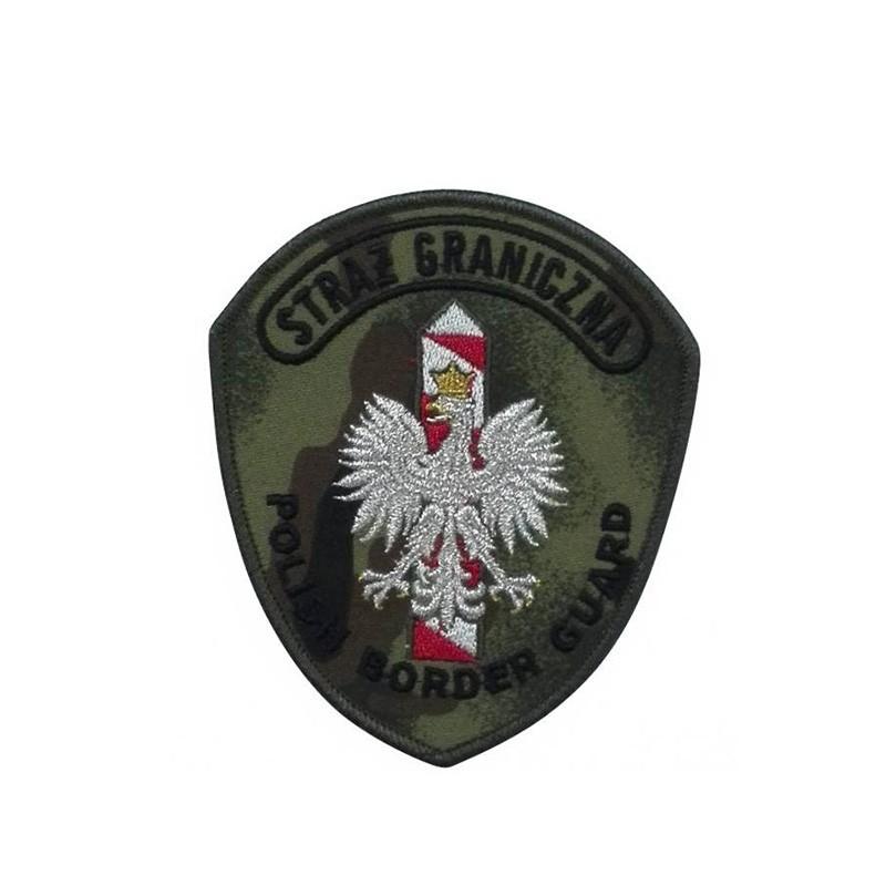 Emblemat naramienny do munduru całorocznego Straży Granicznej