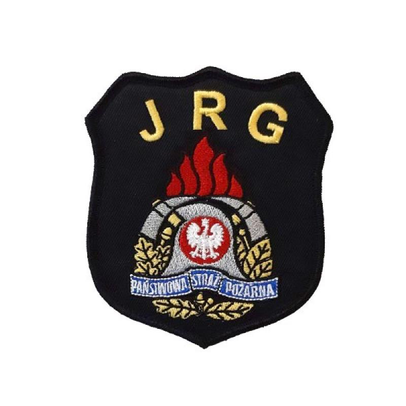 Emblemat naramienny JRG z nowym logo