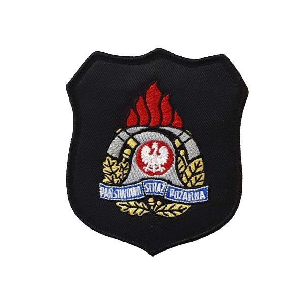 Emblemat naramienny PSP z nowym logo