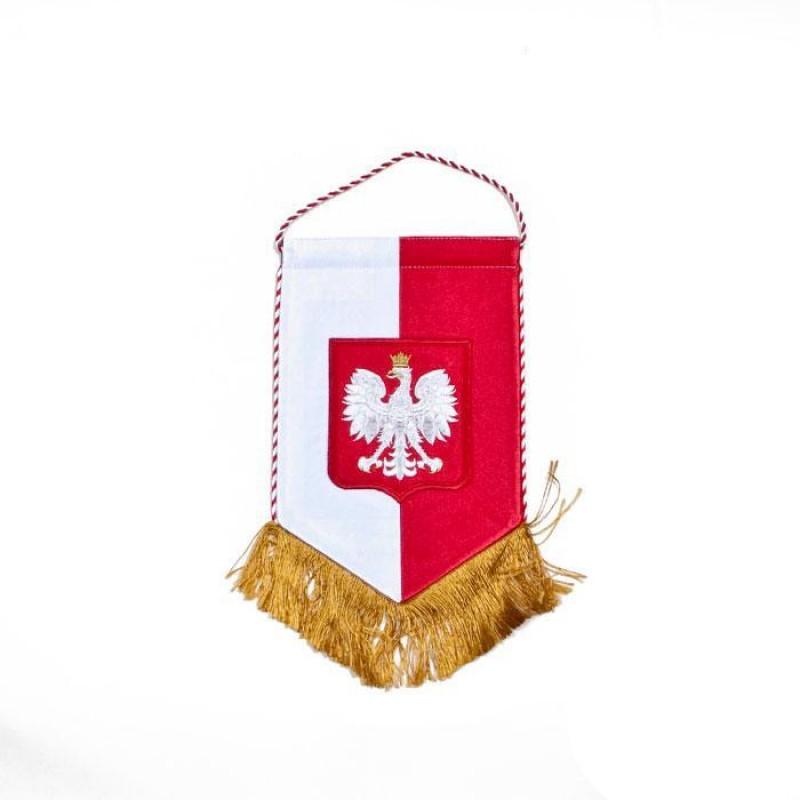 Proporzec z polskim Godłem
