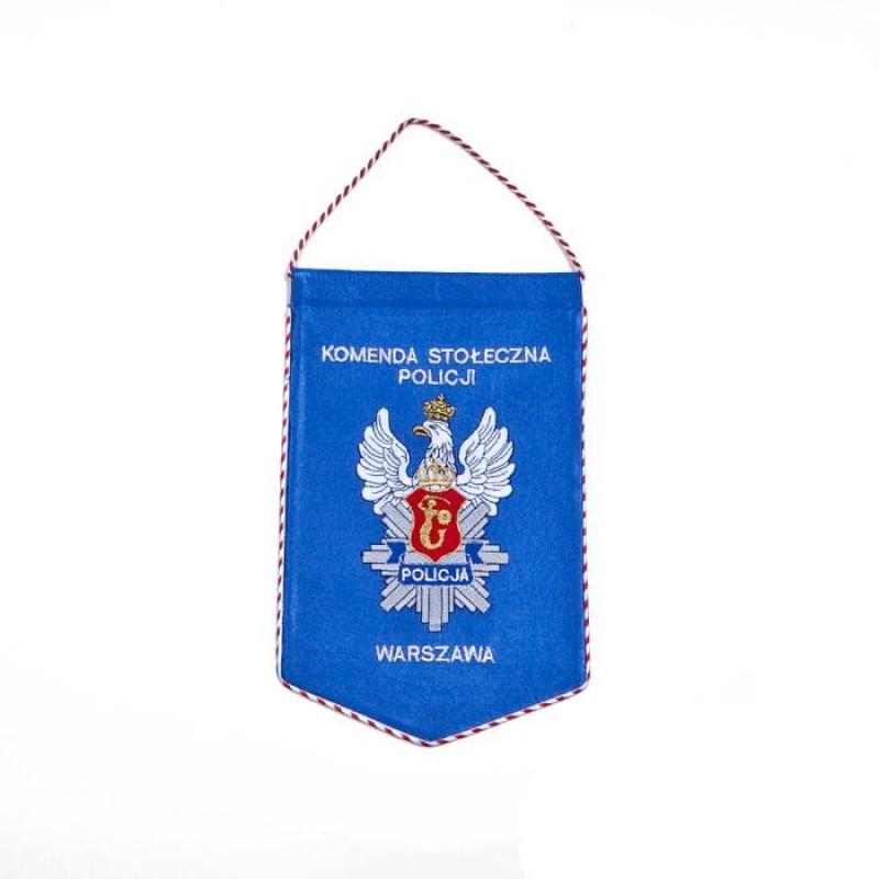 Proporzec Komenda Stołeczna Policji